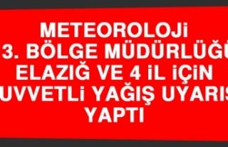 Meteoroloji Bölge Müdürlüğü Kuvvetli Yağış...