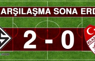 Sakaryaspor 2 – 0 Tetiş Yapı Elazığspor Karşılaşması...