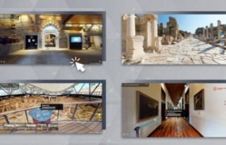Sanal müzeler ve ören yerleri 11 milyon 400 bin...