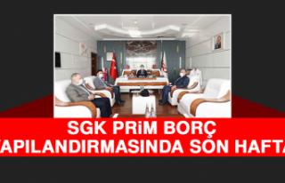 SGK Prim Borç Yapılandırmasında Son Hafta