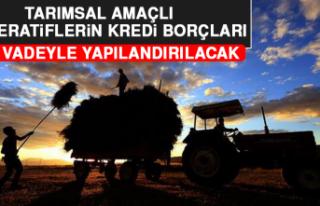 Tarımsal Amaçlı Kooperatiflerin Kredi Borçları...
