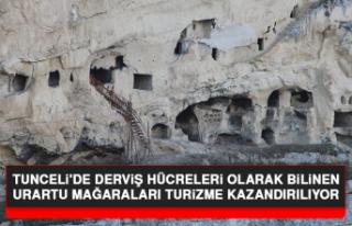 Tunceli'de Derviş Hücreleri Olarak Bilinen...