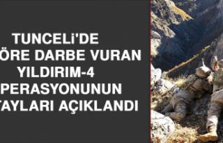 Tunceli'de Teröre Darbe Vuran Yıldırım-4...