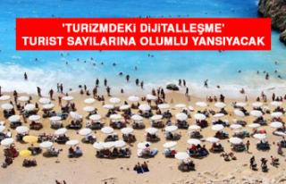 'Turizmdeki Dijitalleşme' Turist Sayılarına...
