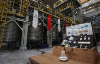 Türkiye'deki ilk lityum karbonat üretim tesisi...