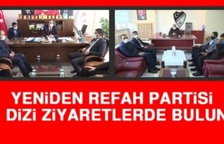 Yeniden Refah Partisi Bir Dizi Ziyaretlerde Bulundu