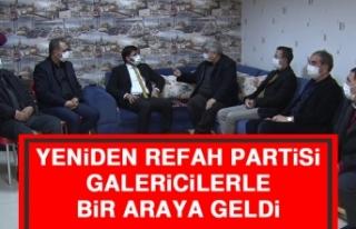 Yeniden Refah Partisi, Galericilerle Bir Araya Geldi
