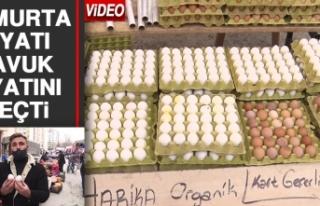 Yumurta Fiyatı Tavuk Fiyatını Geçti
