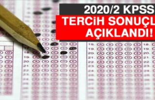 2020/2 KPSS Tercih Sonuçları Açıklandı!