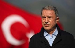 Bakan Akar: Terörle mücadelede Erbil işbirliğiyle...