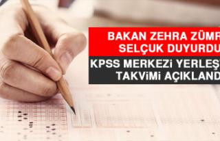 Bakan Zehra Zümrüt Selçuk Duyurdu! KPSS Merkezi...