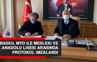 Baskil MYO İle Mesleki ve Teknik Anadolu Lisesi Arasında...