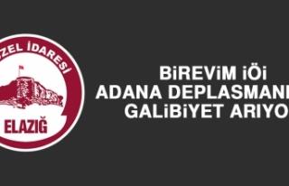 Birevim İÖİ, Adana Deplasmanında Galibiyet Arıyor