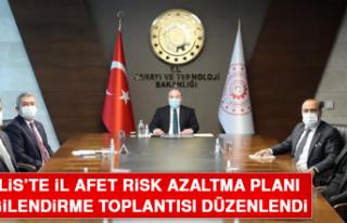Bitlis'te İl Afet Risk Azaltma Planı Bilgilendirme...