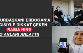 Cumhurbaşkanı Erdoğan'a Sevgisiyle Dikkat...