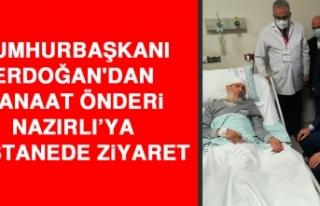 Cumhurbaşkanı Erdoğan'dan Kanaat Önderi Nazırlı'ya...