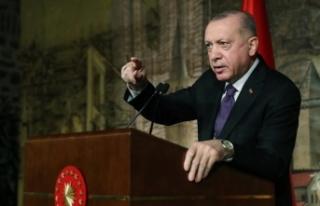 Cumhurbaşkanı Erdoğan: Yüksek faizle bir yere...