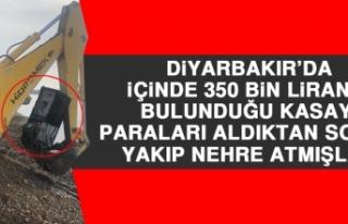 Diyarbakır'da İçinde 350 Bin Liranın Bulunduğu...