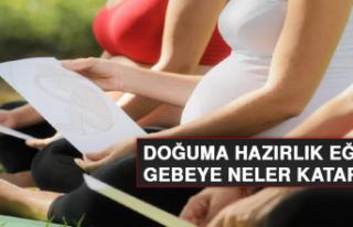Doğuma hazırlık eğitimi gebeye neler katar?