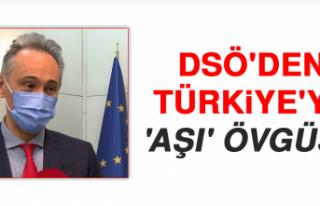 DSÖ'den, Türkiye'ye 'Aşı'...