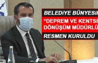 Elazığ Belediyesi'nde Yeni Bir Müdürlük...