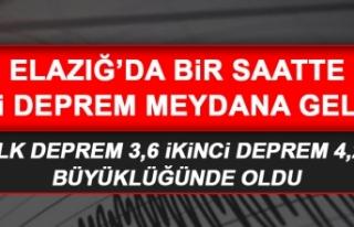 Elazığ'da Hissedilen Bir Deprem Daha Oldu!