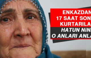 Elazığ Depreminde Enkazdan 17 Saat Sonra Kurtarılan...