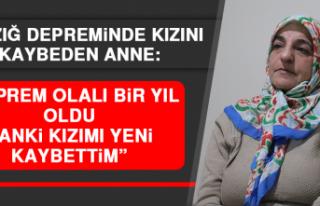 """Elazığ Depreminde Kızını Kaybeden Anne: """"Deprem..."""