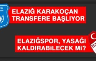 Elazığ Karakoçan Transfere Başlıyor, Elazığspor,...
