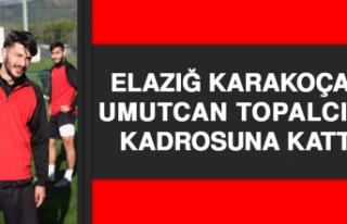 Elazığ Karakoçan, Umutcan Topalcı'yı Kadrosuna...