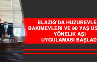 Elazığ'da Huzurevleri, Bakımevleri ve 90 Yaş...