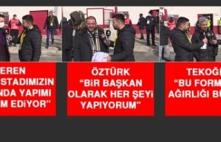 Elazığspor-Bayburt Karşılaşmasının Ardından...