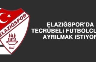 Elazığspor'da Tecrübeli Futbolcular Ayrılmak...