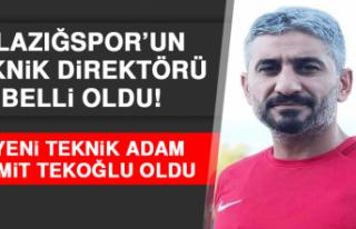 Elazığspor'un Teknik Direktörü Belli Oldu!