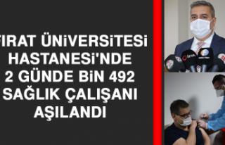 Fırat Üniversitesi Hastanesi'nde 2 Günde Bin...