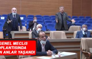 İl Genel Meclisi'nde Sesler Yükseldi