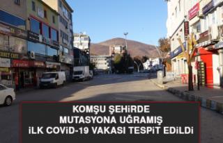 Komşu Şehirde Mutasyona Uğramış İlk Covid-19...
