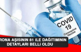Korona Aşısının 81 İle Dağıtımının Detayları...