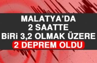 Malatya'da 3,2 Büyüklüğünde Deprem Meydana...