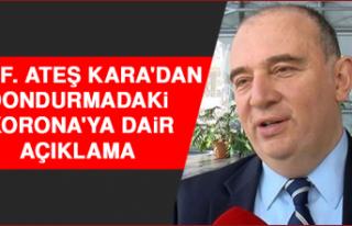 Prof. Ateş Kara'dan Dondurmadaki 'Korona'ya...