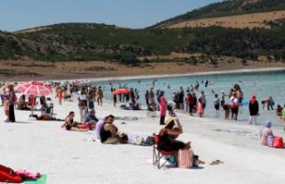 Salda'yı Yılda 1 Milyon Kişi Ziyaret Etti