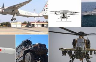 Savunma ve Havacılıkta 2020 İhracatı 2.3 Milyar...