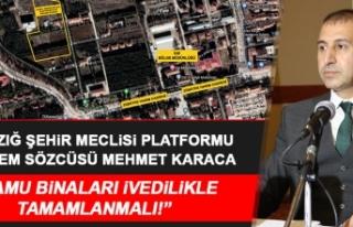 Şehir Meclisi Platformu Başkanı Karaca, Tarım...