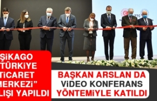 """Şikago """"Türkiye Ticaret Merkezi"""" Açılışı..."""