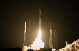 Türksat 5A'nın yörünge yükseltme operasyonları...
