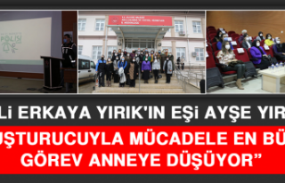 """Vali Erkaya Yırık'ın Eşi Ayşe Yırık:""""..."""