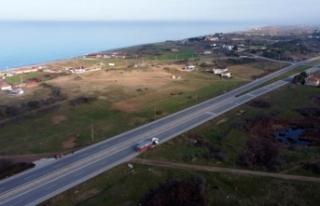 11 ilden geçen Karadeniz Sahil Yolu 2023'te...