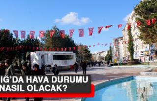 11 Şubat'ta Elazığ'da Hava Durumu Nasıl Olacak?