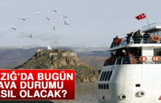 12 Şubat'ta Elazığ'da Hava Durumu Nasıl Olacak?