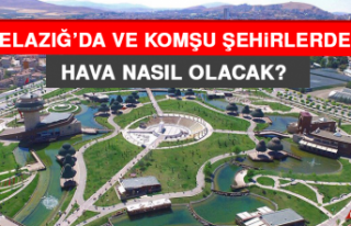 19 Şubat'ta Elazığ'da Hava Durumu Nasıl...